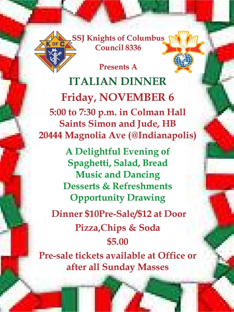 italian Dinner Flier [Read-Only]